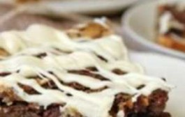 طرز تهیه کیک پای گردویی دارچینی