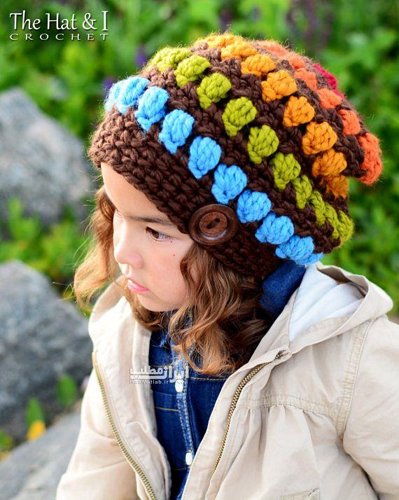 شیک ترین مدل های کلاه بافتنی دخترانه ۲۰۱۵+عکس