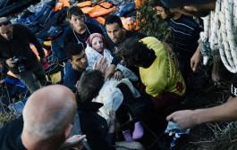 عکسهای زایمان زن سوری پس از فرار از دست داعش