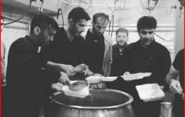 عکس نذری پرسپولیسیها به یاد کاپیتان هادی نوروزی