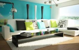 طراحی اتاق نشیمن به شکل زیبا و اصولی