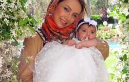 اولین عکس منتشر شده از فرزند شبنم قلی خانی, شانا