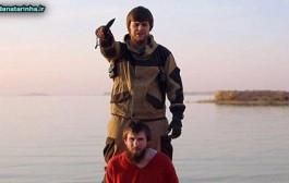بریدن سر اسیر روسی توسط داعش بدون سانسور