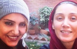 عکس لو رفته از چهره بدون آرایش هدیه تهرانی