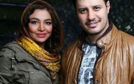 مه لقا باقری و همسرش جواد عزتی در اکران خصوصی فیلم