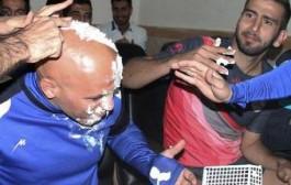 کله منصوریان در شب تولدشکیکی شد! عکس