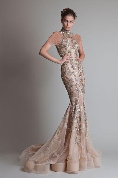 جدیدترین مدل لباس نامزدی 2015 زنانه مخصوص مجالس مهم
