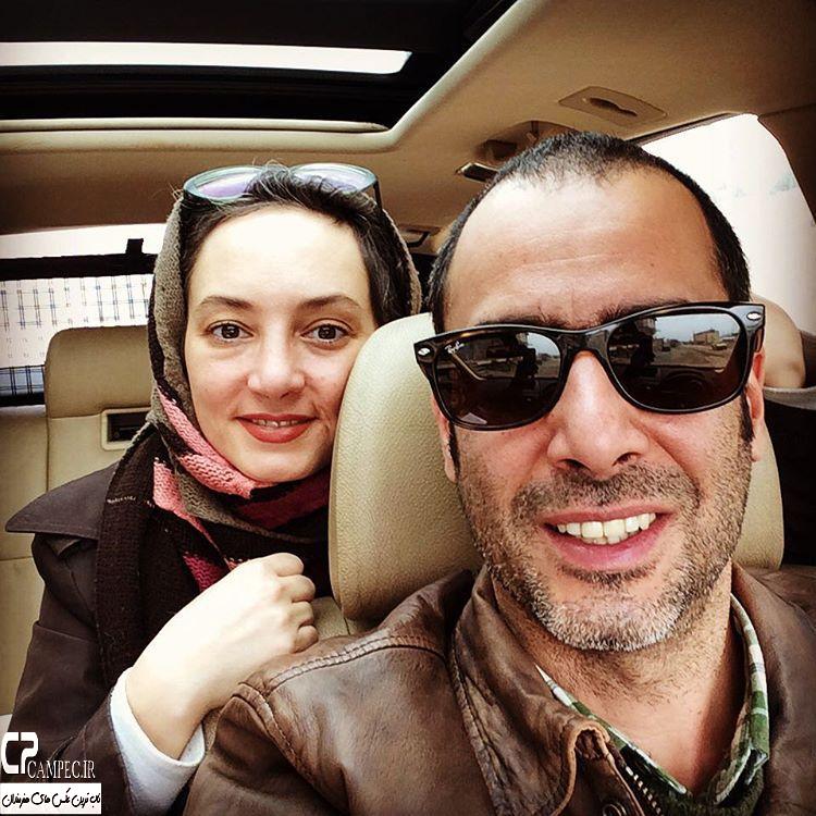 نیما فلاح و همسرش سحر ولدبیگی