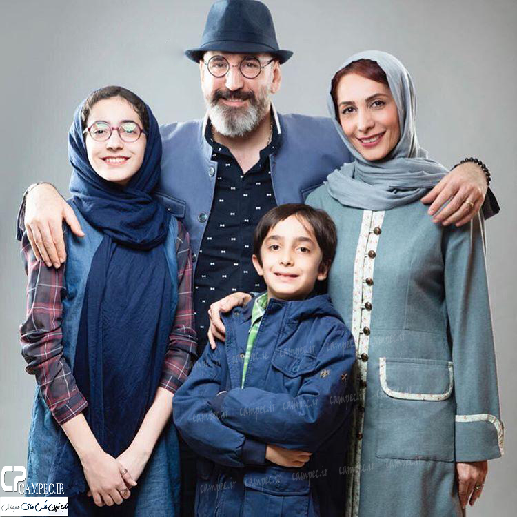 عکس آتلیه صالح آقا میرزایی با خانواده اش