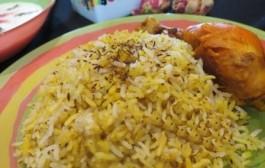 طرز تهیه زیره پلو با مرغ - آموزش آشپزی